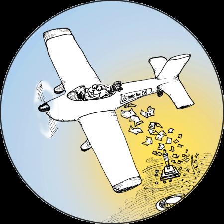 Flugzeug für Darmstadt