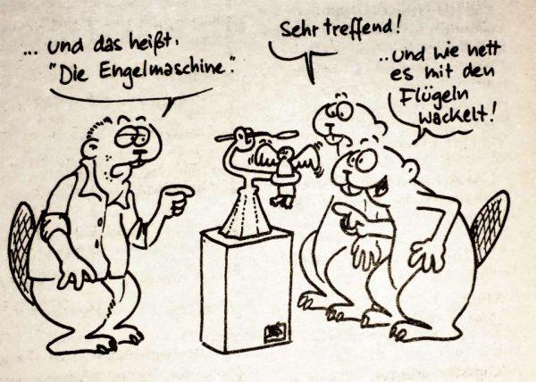 Engelmaschine, von Horst Bimster